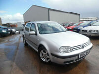 VW GOLF S 1.6 PETROL 5 DOOR HATCHBACK
