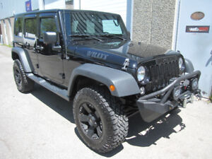 2015 Jeep Wrangler Unlimited Sport WILLY'S **LIFT KIT**