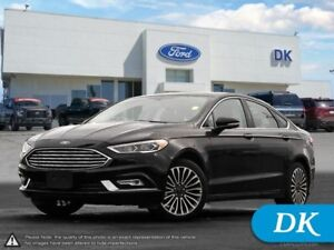 2017 Ford Fusion Titanium AWD w/Nav, Leather, Moonroof, and More