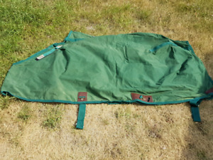 Blankets and saddle pads