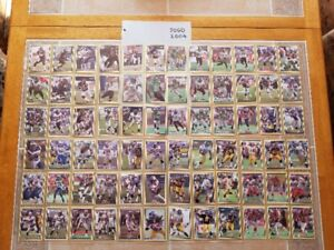 2004 Jogo Canadian Football League (CFL) Cards