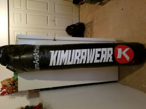 Brandnew 6ft kimurawear bag w/chains gloves and focus mitts