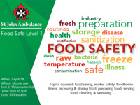 Food Safe Level 1