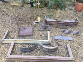 Various Brass Hearths and Other Items