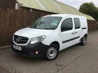 2016 Mercedes-Benz Citan Crew Cab 1.5 111 CDI DUALINER 110 BHP ** AIR CON * *EUR