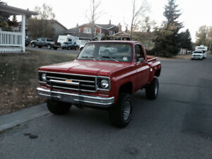 1978 k10 short box step side