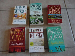 Lot of Barbara Delinsky Romance Novels London Ontario image 3