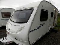 Sprite Major 5 2007 Lightweight 5 Berth Touring Caravan Double Dinette Layout