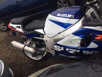 Suzuki gsxr 600 only 23k