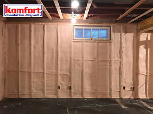 Spray Foam Insulation - Komfort Insulation Ltd.