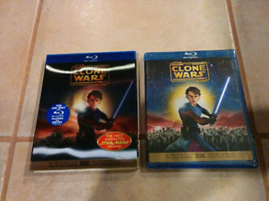 BRAND NEW Star Wars The Clone Wars Blu-Ray (2008) with Slipcover