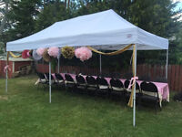 Tent chair table & party rentals