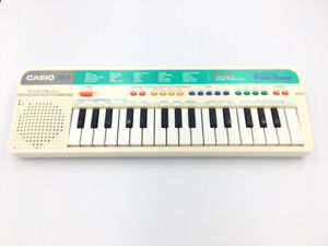 Vintage-1980-s-CASIO-SA-3-Electronic-Keyboard-Good-Working-Orde