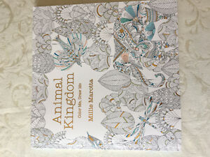 Animals Colouring Book for Adults (like new, no colouring)