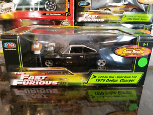 1:24 Diecast ERTL Fast and Furious 1970 Dodge Charger