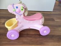 Little tikes musical ride on horse