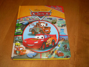 TODDLER CARS LOOK AND FIND BOOK