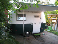 1976 13' Boler for sale - many updates! Ready for camping!