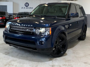 2012 RANGE ROVER SPORT HSE LUX|NAV|BACK UP|HEATED STEER|BLK RIMS