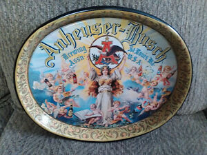 Anheuser Busch Metal Serving Tray