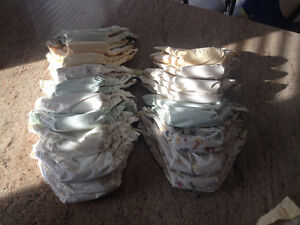 19 Kushies Baby Cloth Diapers