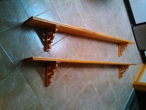 Plate Rail/Shelf - Pine