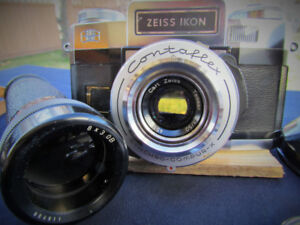 ZEISS vintage CAMERA LENSES [individually, or the total of 7]