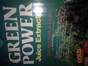 New Green Power Juice extractor