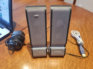 Portable USB-powered speakers | Altec Lansing XT2