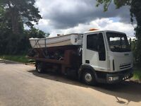2005 iveco Hiab tilt slide recovery lorry