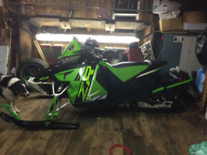Bring cash, awesome deal, ZR 4000 RR , 500 cc $ 5500.00 now !