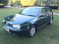1999 Volkswagen Golf 1.6 auto SE NEW MOT 25/08/2017 NEW TIMING BELT KIT
