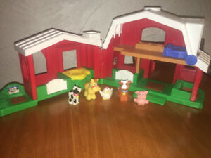 Fisher price farm and garage/ ferme Fisher price