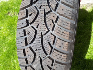 """15"""" mounted winter tires"""