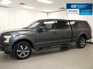 2016 Ford F-150 XLT SPORT w/Leather, Remote Start and much more!