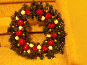 CHRISTMAS WREATHES