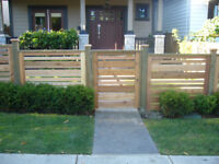 Custom Cedar fencing and Sundecks