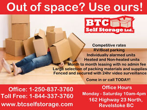 Residential and Commercial Storage