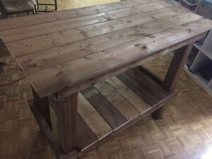 Wood workbench for sale!