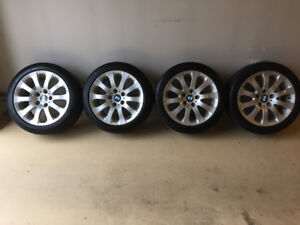 RIMS (BMW) & MICHELIN WINTERS TIRES 17""
