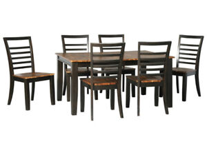 FLOOR MODEL BLOWOUT: Ashley Quinley Dining Table