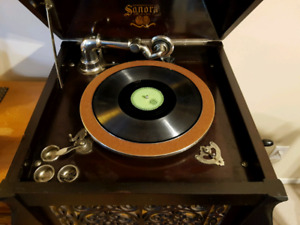 Sonora Antique 1926 Phonograph Record Player