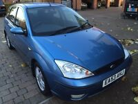 Ford Focus 1.6 i 16v 5dr Zetec 1 Years MOT! (1600 Cheap to Run & Insure Reliable Economical Version)