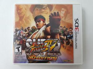 Super Street Fighter IV: 3D Edition pour Nintendo 3DS
