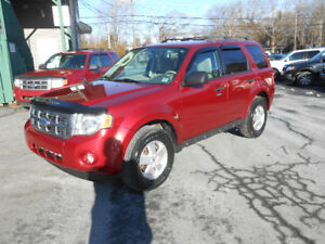 2012 FORD ESCAPE 5 DOOR XLT SUV, WARRANTY INCLUDED