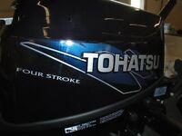 2015 TOHATSU 15 HP 4 STROKE LONG SHAFT (20' TRANSOM)