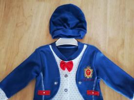 Set for a boy on 3-6 months 62 cm