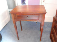 Antique Sewing Machine in Table