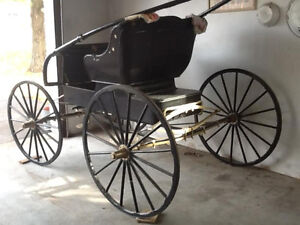 ANTIQUE BUGY, RESTORED to NEW CONDITION---NOW-$1200 Kingston Kingston Area image 3