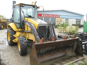 VOLVO BL70 BACKHOE EXTEND-A-HOE 2004